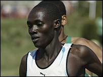 Nigerian runner Boniface Kiprop