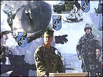Nato chief James Jones at opening ceremony