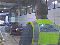 A Customs officer at Dover