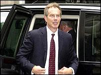 Tony Blair returns to Downing Street