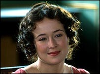 Jennifer Ehle as Elizabeth Bennet in BBC TV's Pride and Prejudice