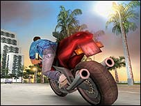 Screenshot from Vice City