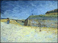 Van Gogh's The Fortifications of Paris with Houses