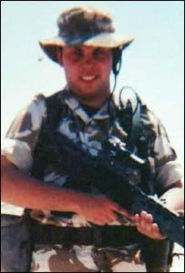 Fusilier Russell Beeston