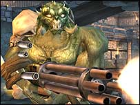 Character from Unreal Tournament 2004