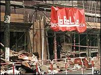 Scene of the 1986 bombing