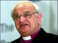 Church of Ireland Primate Dr Robin Eames