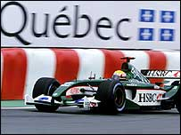 Mark Webber at the 2003 Montreal GP