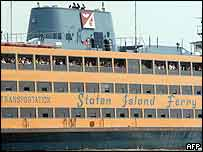 Staten Island Ferry. Archive picture.