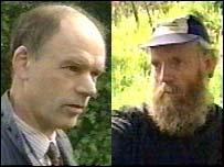 Mr Collinson (left) was murdered by Albert Dryden