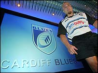 Dan Baugh has pledged himself to Cardiff throughout the World Cup