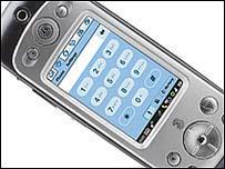 Motorola A920 phone
