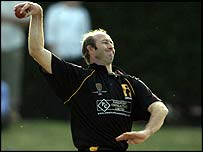 Harris bowling for Lashings