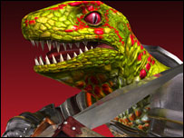 Lizardman from Soul Calibur II