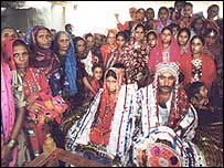Traditional Pakistani wedding