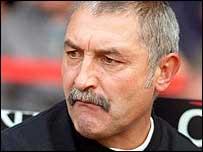 New Carlisle asisstant boss Dennis Booth