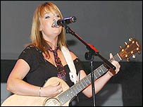 Singer Sinead Quinn