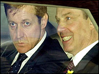 Tony Blair and Alastair Campbell
