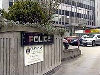 Grampian Police HQ in Aberdeen