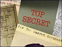 Top Secret documents graphic