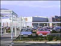 Centro comercial en EE.UU.