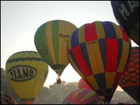 Hot air balloons generic