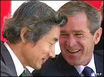 Koizumi and Bush