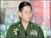 Burma's new Prime Minister General Khin Nyunt