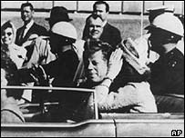 John F Kennedy in Dallas, 1963
