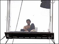 Blaine in box (PA)
