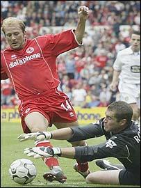 Gaizka Mendieta was impressive on his home debut for Middlesbrough