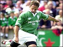 David Humphreys contributed 26 points for Ireland