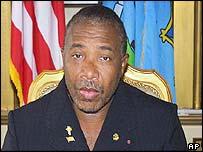 Liberian ex-President Charles Taylor