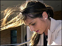 Cheryl Tweedy leaves court on Friday