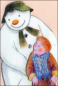 Snowman and James