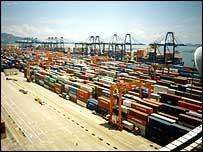 Yantian port, Shenzhen