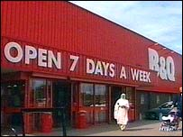 B&Q store on Station Road, Stechford, Birmingham