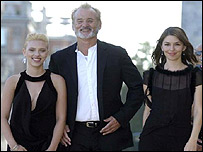 Scarlett Johansson, Bill Murray and Sofia Coppola