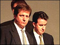 Alastair Campbell and Peter Mandelson