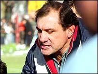 Uruguay coach Diego Ormaechea