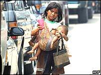 Beggar in Indonesia