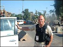 John Hughes-Jones in Baghdad