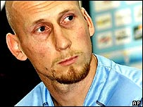 Jaap Stam is unveiled by Lazio in 2001