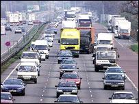 M11 motorway (PA)
