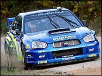 Subaru's Petter Solberg
