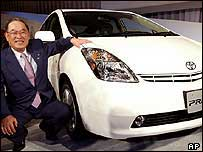 Toyota's president launches the new Prius