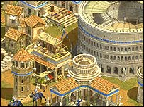 Screenshot from Rise of Nations, Big Huge Games