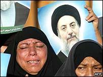 Women mourn Ayatollah al-Hakim