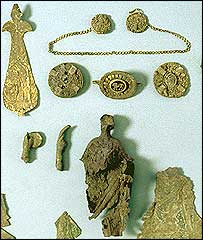 The Baldock Hoard. Used by permission of the British Museum