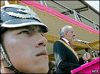 El nuevo presidente de Bolivia, Carlos Mesa